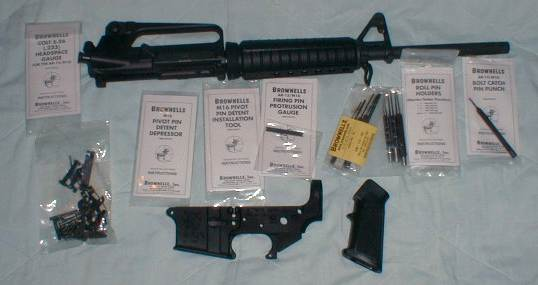 AR-15 parts and tools